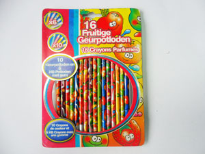 Scented Pencil Set with Design