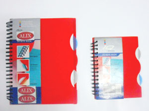 PP Notebook with Divider 2