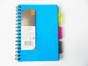 PP Notebook with Divider 1